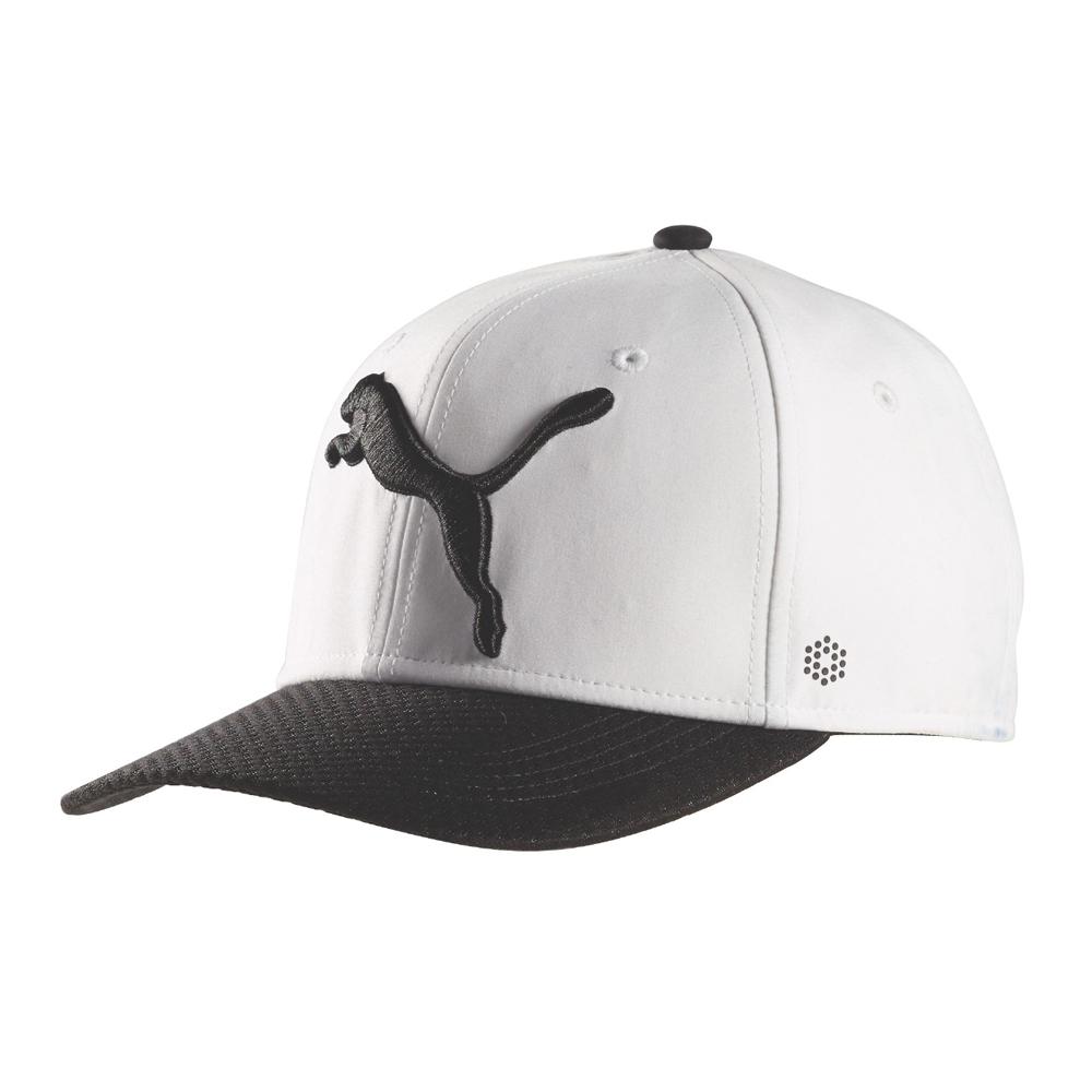 Details about PUMA Golf Disc Adjustable Cap Bright White PUMA Black 202ca708014